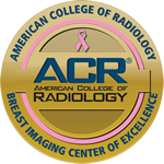 ACR Breast Center of Excellence Seal